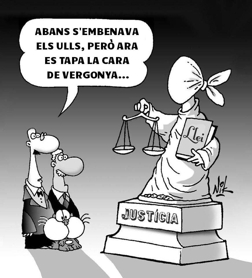 Injusticia justicia estartit torroella