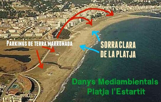 Platja playa estartit beach plage strand
