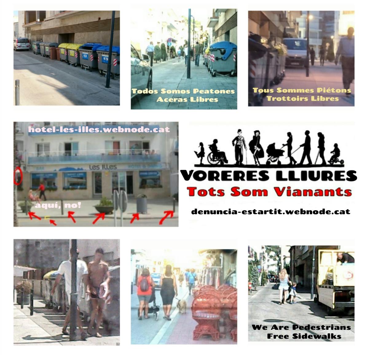 Voreres Vianants Estartit Dalmau Hotel les Illes